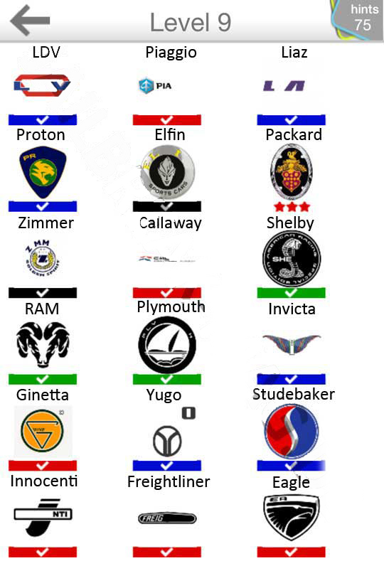 Automotive logo quiz