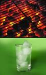 gorący lodowaty